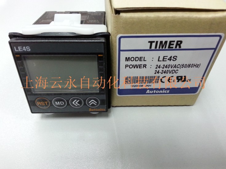 New original authentic LE4S Autonics timer