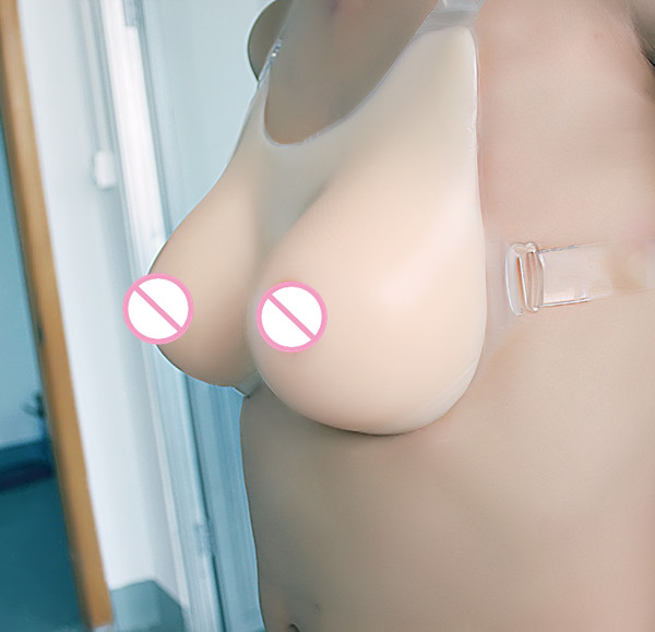 Free Shipping 1200g/pair Artificial Silicone Big Breasts Forms False Fake Large Boobs for Cross Dressing or Women Enhancers  free delivery cheap price promotional 1400g pair plump sexy fake silicone breasts forms for cross dressers or women enlarge