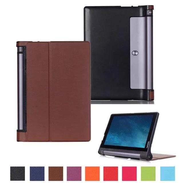 2017 Ultra Slim Karst Folio Leather Case Protective Skin Cover For Lenovo Yoga Tab 3 850F 8 Inch Tablet PC