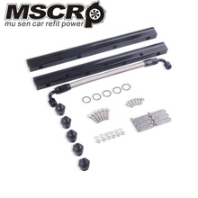 New Arrived LS1 LS2 LS6 Billet Aluminum High Performance Fuel Rail Kit Silver LS Swap 1621