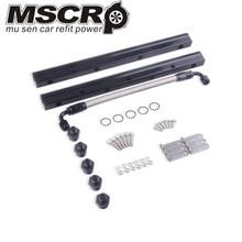 цены на New Arrived LS1 LS2 LS6 Billet Aluminum High Performance Fuel Rail Kit Silver LS Swap 1621  в интернет-магазинах