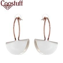 Beautiful Hotsale White Women Earrings Studs Jewelry Dangle pendientes brincos Handmade Original earring Drop shipping