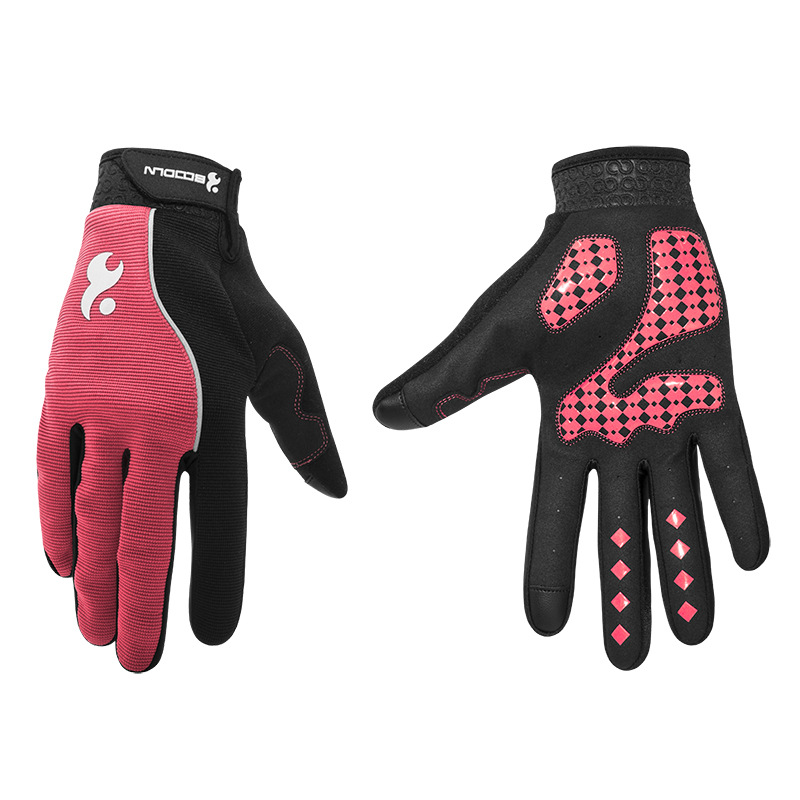 Men & Women Cycling Gloves Full Finger Screen Outdoor Bicycle Gloves - Cycling - Photo 3