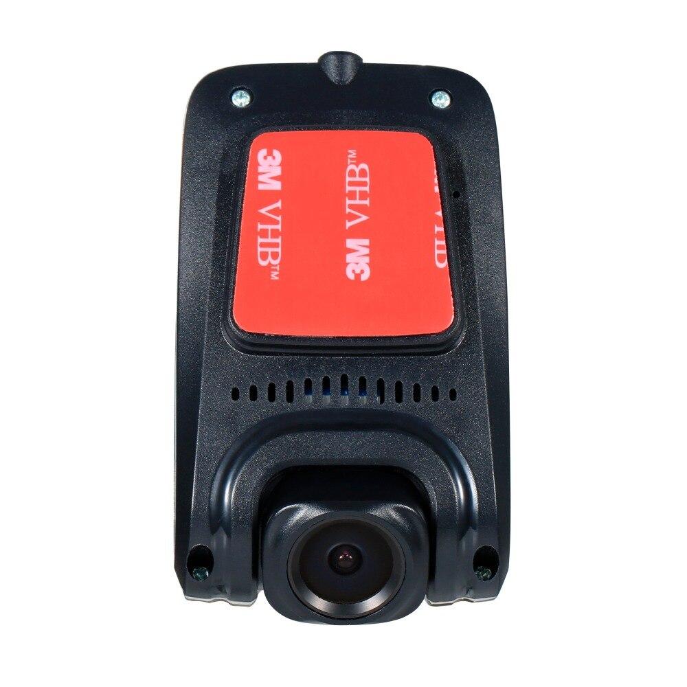 Caméra USB HD avant voiture avec micro fente pour carte SD pour Android stéréo DVD de voiture