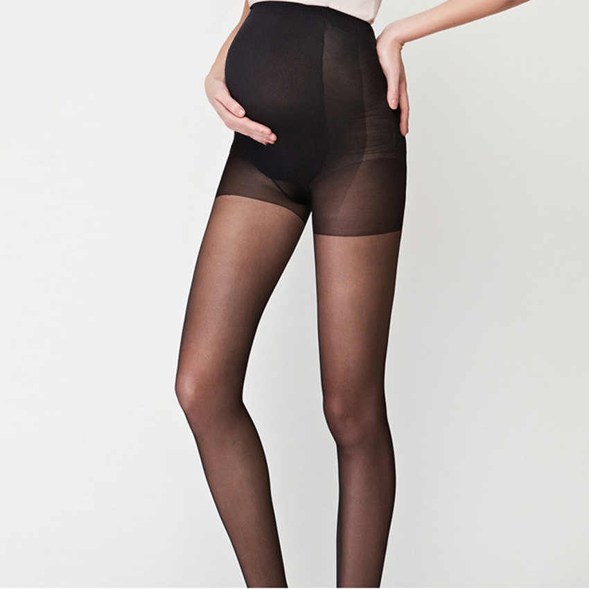 NEW Summer Clothes for pregnant women Pantyhose Super thin stockings Full protection Thin Solid Oversized Bottom maternity pants
