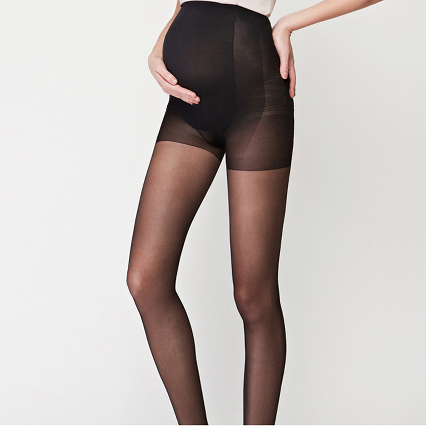 One Size Pamela Mann Maternity Ribbed Footless Tights Ideal For Pregnancy