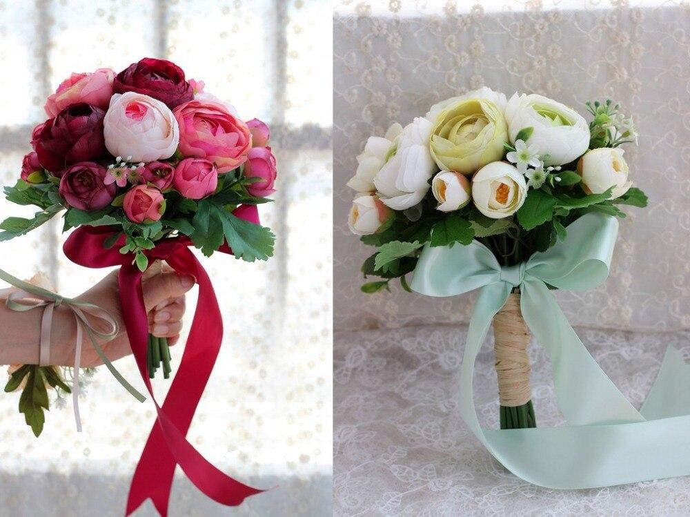 Букеты цветы свадебные