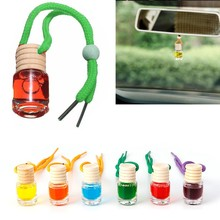 Glass Bottle Car Vehicle Aroma Oil Air Freshener Diffuser Essential Fragrance
