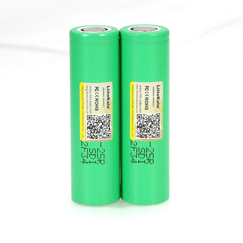 Image 4 - LiitoKala  18650 2500mAh Rechargeable Battery INR1865025R 3.6V discharge 20A dedicated For E cigarette batteries-in Replacement Batteries from Consumer Electronics