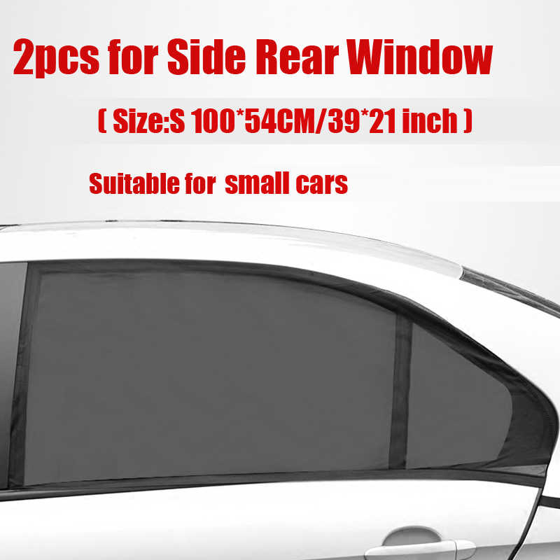 2 Pcs Auto Windows Sun Shade Sock Cover UV Protector Baby Child Shield For Cars