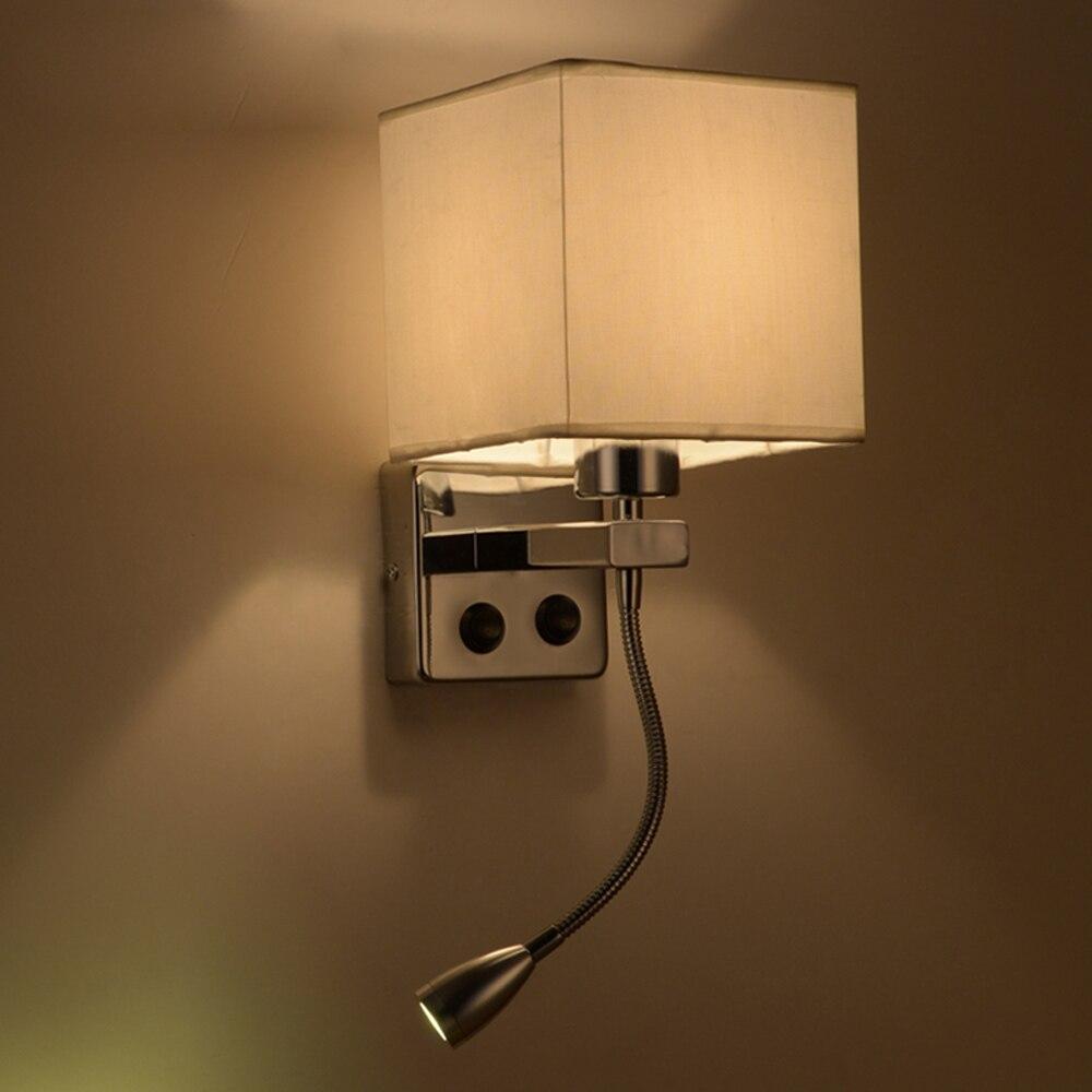 Bedroom modern wall lights - Modern Wall Lamp Alloy Novelty Up Down Double Lights Led Wall Light Luminaire Bed Wall Lamp Van