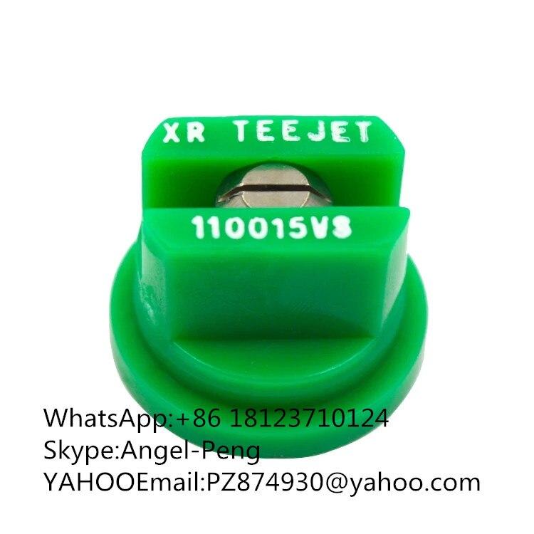 Made In America Plastic Flat Fan Spray Teejet Nozzle Tip
