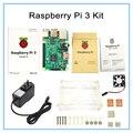 Buy Raspberry Pi 3 Model B Board +Raspberry Pi3 Case +Power Plug(EU &US)+Heat Sinks
