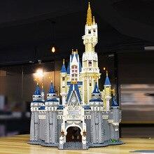 Toys For Children Anime Movie Castle Diy Assembled Building Blocks Model Kit Educational Boy Girl Gift Compatible Legoing I42