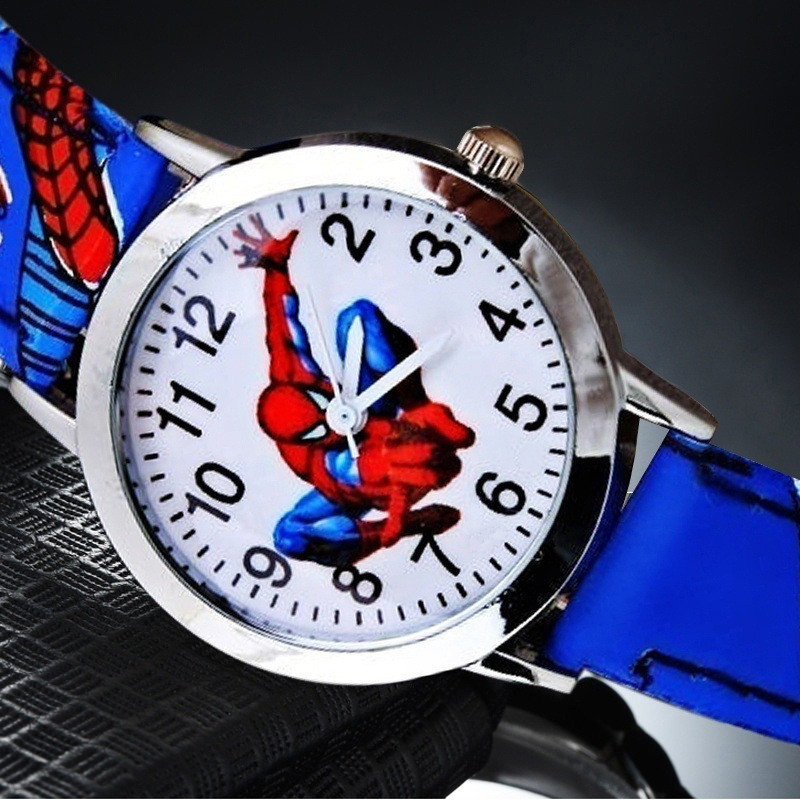 Cool Cartoon Kids Watches Children Boys Quartz Watch Trendy Spiderman Sports Wristwatches Gift Clock Reloj Montre Enfant Relogio