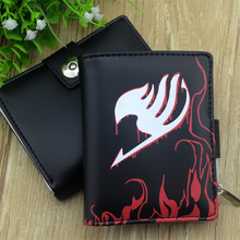 Attack on Titan Fairy Tail and Conan men wallets (19 colors)