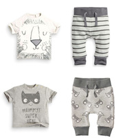 2016 NEW BORN BABY Clothing SETS Baby BOYS Hort Sleeve 100 T Shirt Twinset BATMAN MASK