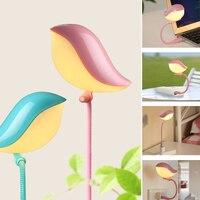 USB LED Light Lamp Lovely Bird Night Lamp Portable Light For Laptop Keyboard