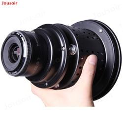 LED Photography condenser tube Flash condenser graphics art lighting projection lens art background CD50 T07