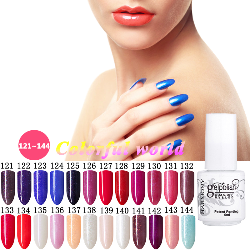 168 colors gel nail polish uv lamp soak off gel polish gel lak vernis semi permanent gelpolish. Black Bedroom Furniture Sets. Home Design Ideas