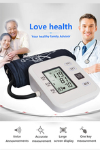 Portable Arm Blood Pressure Pulse Monitor Digital Upper Meters Sphygmomanometer Health care Monitors