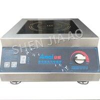Desktop Planar Induction Cooker Commercial 5000W waterproof High Power stire fry 220V 380V Restaurant Kitchen Cooking Appliances