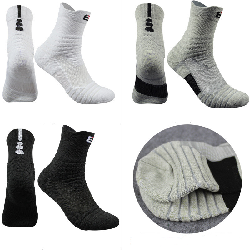 High Quality New Men Outdoor Sports Socks 3