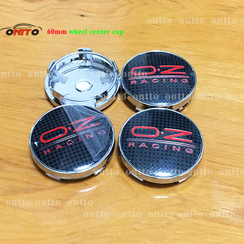Image 5 - 4pcs oz racing 56mm 60mm O.Z OZ Sticker Wheel Center Hub Caps Wheel Dust proof emblem covers label for skoda audi v w toyota-in Wheel Center Caps from Automobiles & Motorcycles