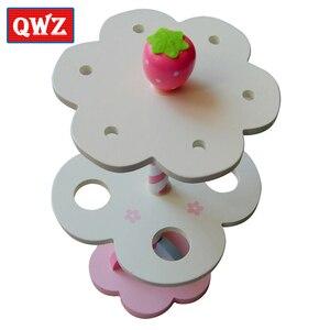 Image 4 - Qwz sorvete magnético de brinquedo do bebê, simulação de brinquedos magnéticos, brinquedos de madeira para fingir, cozinha, bebê, brinquedos infantis para aniversário e natal