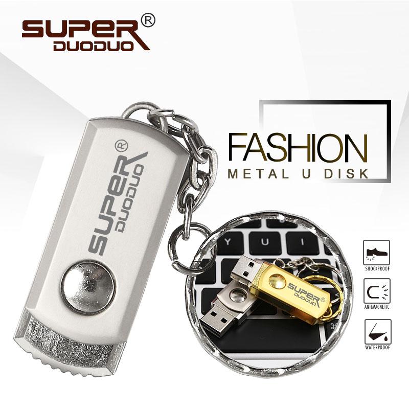 Вращающийся металлический USB флеш накопитель 64 ГБ 32 ГБ 16 ГБ 8 ГБ Мини флешка с брелоком Подарочный флеш накопитель 128 ГБ usb флешка Бесплатная доставка USB флэш-накопители      АлиЭкспресс