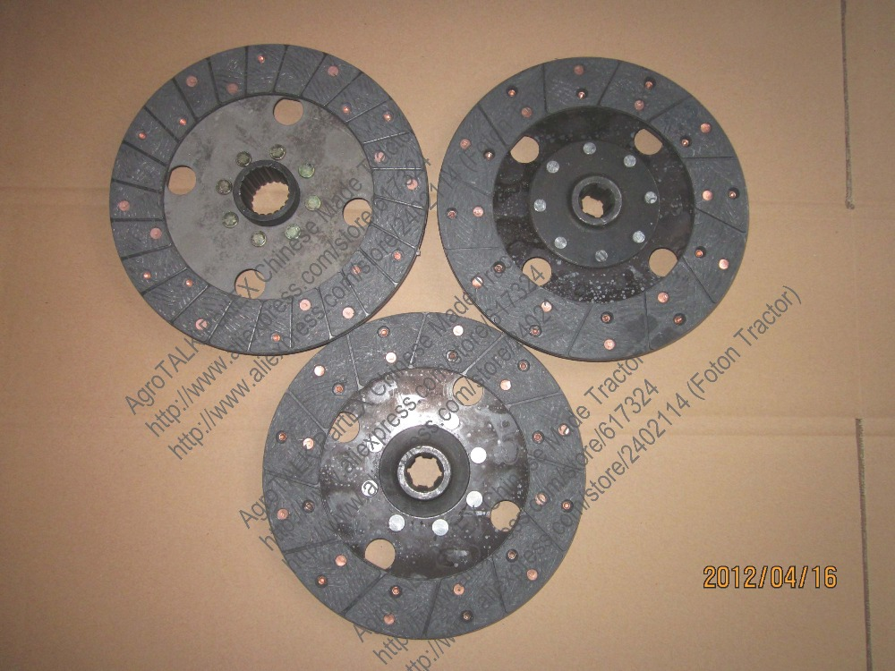 Set of clutch discs for Benye tractor with model BY254C, BY254AY-1BY304-16