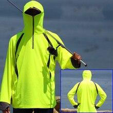 Outdoor Hooded Fishing Clothing Anti-UV Cycling Hiking Jackets Mens Quick Dry daiwa shirts chaqueta de pesca