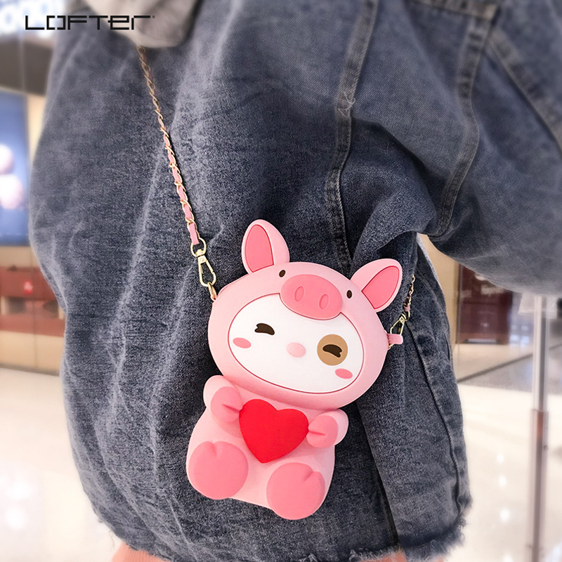 cute-cartoon-phone-bag-for-apple-iphone-8-7-6s-plus-xs-max-case-for-samsung-silicone-cover-shoulder-bag-mobile-phone-accessories