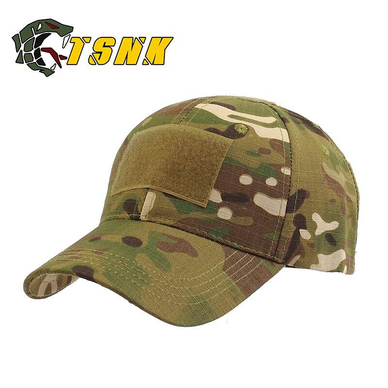 Kopfbedeckungen Für Herren 2019 Neue Männer Taktische Camo Baseball Hut Militär Armee Spezielle Kräfte Airsoft Kappe Kühlen