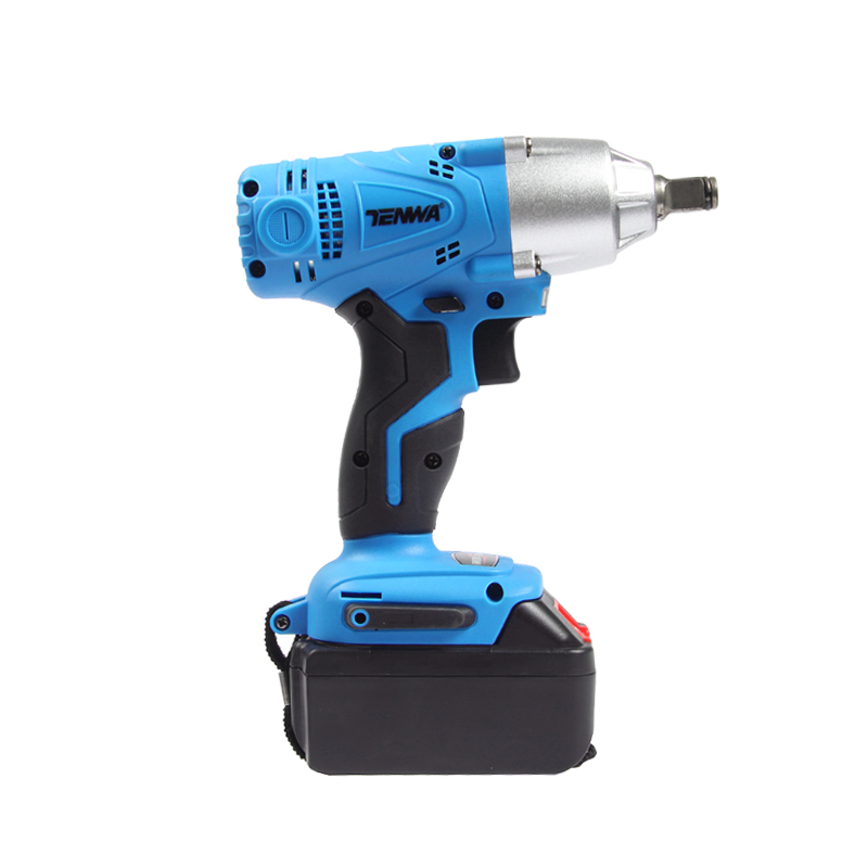 Tenwa 21v Electric Impact Wrench 280 Nm High Torque Cordless Drill With Battery Quick Charger In Wrenches From Tools