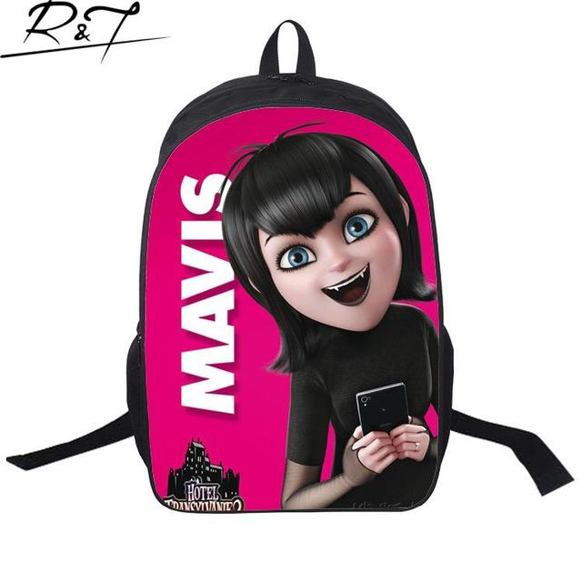 Hot Hotel Transylvania Backpack Cute Vampire Backpacks Cartoon Children Bags School Bags For Teenagers Boy