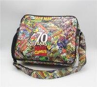 Cinematográfico Marvel 70 año bolsa de Libros Bolsa de Mensajero Bolso de la Computadora paquete QY001