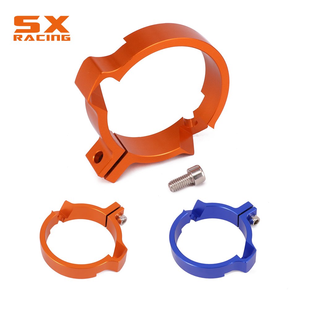 Eetkamer Set Outlet Engine Exhaust Outlet Downpipe Bolt Pipe Clamp Adaptation Flange For Ktm Exc Sx250 Exc250 Exc300 Tc250 Te250 Te300 Tx300 17 18