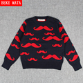 BEKE MATA Baby Boy Sweater Winter 2016 Casual Beard Cotton Toddler Boys Sweaters for Kids Warm Boy Pullover Children Sweaters
