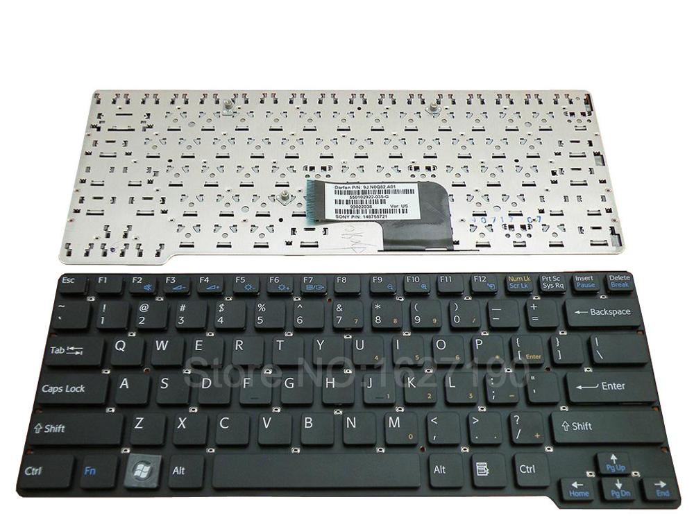 US <font><b>Keyboard</b></font> For SONY VGN-<font><b>CW</b></font> BLACK PN:NSK-S7A01 9J.N0Q82.A01 148755721 New Laptop <font><b>Keyboards</b></font> With Free Shipping image