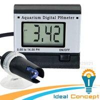Mini Digital PH Meter Hydroponics Aquarium Swimming Pool Spa 0 00 14 00pH Range