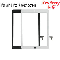 Redberry For IPad Air 1 IPad 5 Touch Screen Digitizer No Home Button Front Glass Display