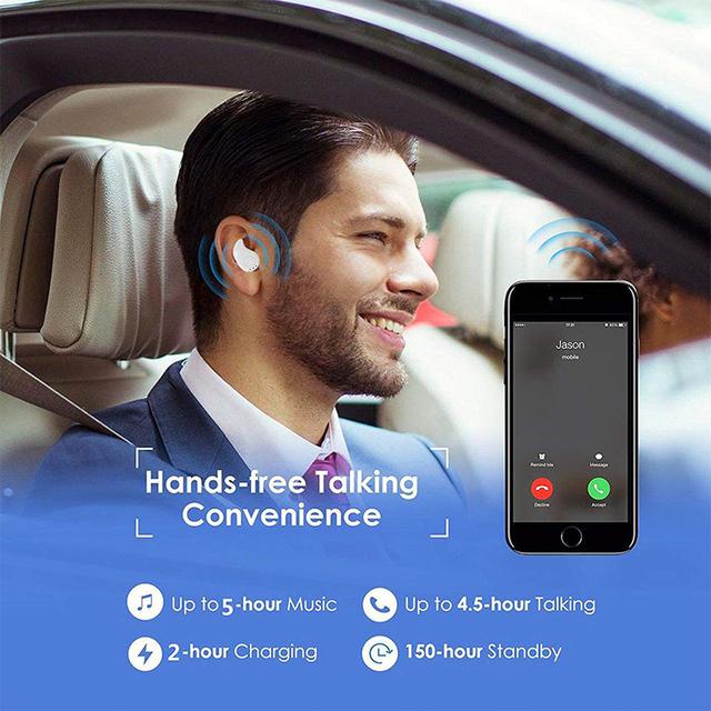 FANGTUOSI Mini Wireless Bluetooth Earphone S530 in ear Sports Headset Earphones Earpiece with Mic for All smartphones