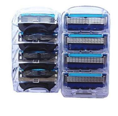 4Pcs/lot Men Razor Blade High Quality Shaving Cassettes Facial Care Men Shaving Blade Compatible Gillettee Fusione