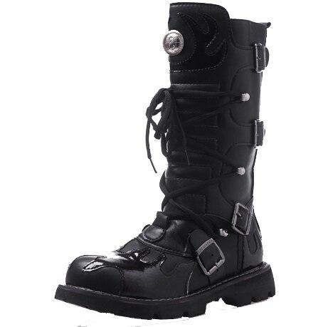 Exército Qualidade Sapatos Do Militares Botas Táticas Dos Homens Cano Couro Genuíno De Alta Alto Preto Cwd6OqFaTq