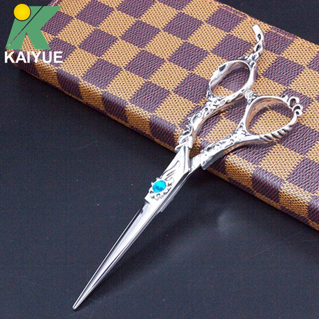 Brand New 1pc+ Bag 6 inch Professional Hairdressing Scissors Hair Cutting Scissors With Bag Barber Salon Tools GX01-60-P