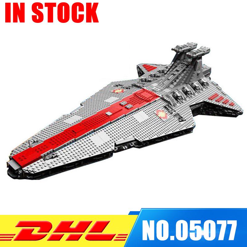 In Stock Lepin UCS Series 05077 The UCS Rupblic Star Destroyer Cruiser ST04 Set Building Blocks Bricks Education Toys Gifts in stock lepin 23015 485pcs science and technology education toys educational building blocks set classic pegasus toys gifts