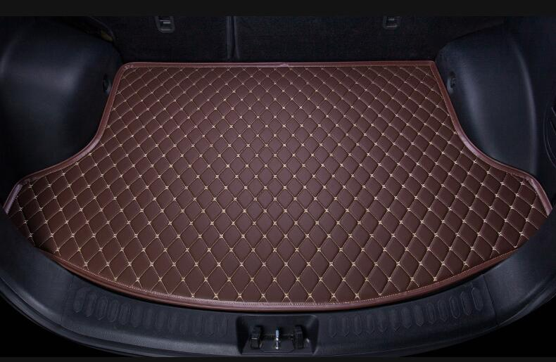 1PCS Rear Trunk Cargo pad mat Mats For Cadillac CTS XTS SRX SLS XT5 Escalade (6colors)