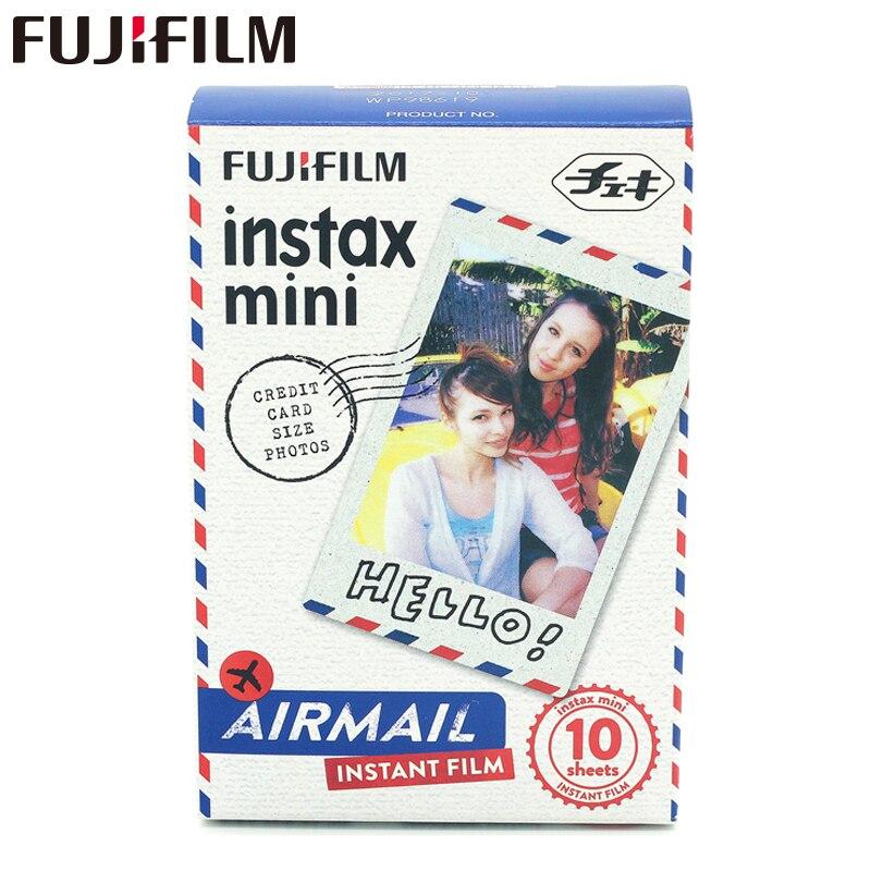 Originální Fuji Mini 8 Film Fujifilm Instax Mini Film 10 listů Air Mail pro 8 50s 7s 90 25 SP-1 Instantní fotoaparáty