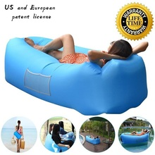 Outdoor Inflatable Air Sofa Holiday Seaside Beach Lady Bone Sofa Wild Sleeping Bag Outdoor Seating Garden Furniture